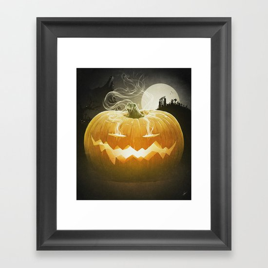 Pumpkin I. Framed Art Print