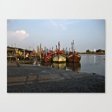 Abandoned Ships Canvas Print