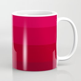 Pink and Red Stripes Coffee Mug