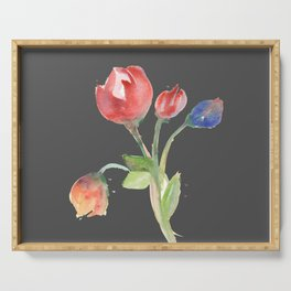 tulips (version #2) Serving Tray