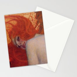 Gustav Klimt, Goldfish, (detail) 1901-1902 Stationery Cards