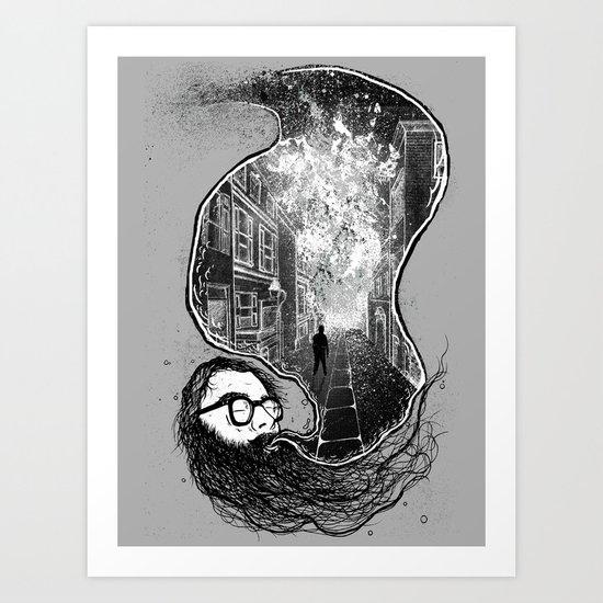 Ginsberg - Howl  Art Print