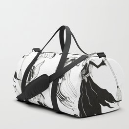 Happy Monsters (in white) Duffle Bag