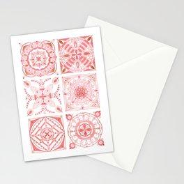 Blush ceramic tiles  Stationery Cards