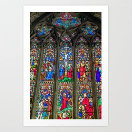 The Light Of Faith Art Print