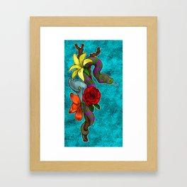 Python Framed Art Print