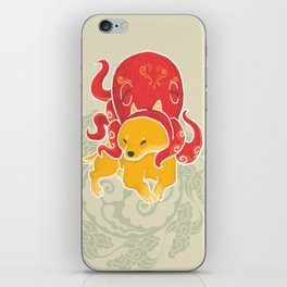 Octopus Funny Dog Costume - Sea Collection iPhone Skin