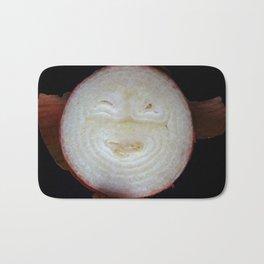 happy onion Bath Mat
