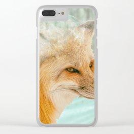 Spirit Fox Clear iPhone Case