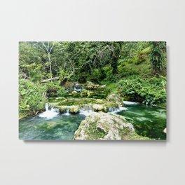 Waterfalls in Vanuatu Metal Print