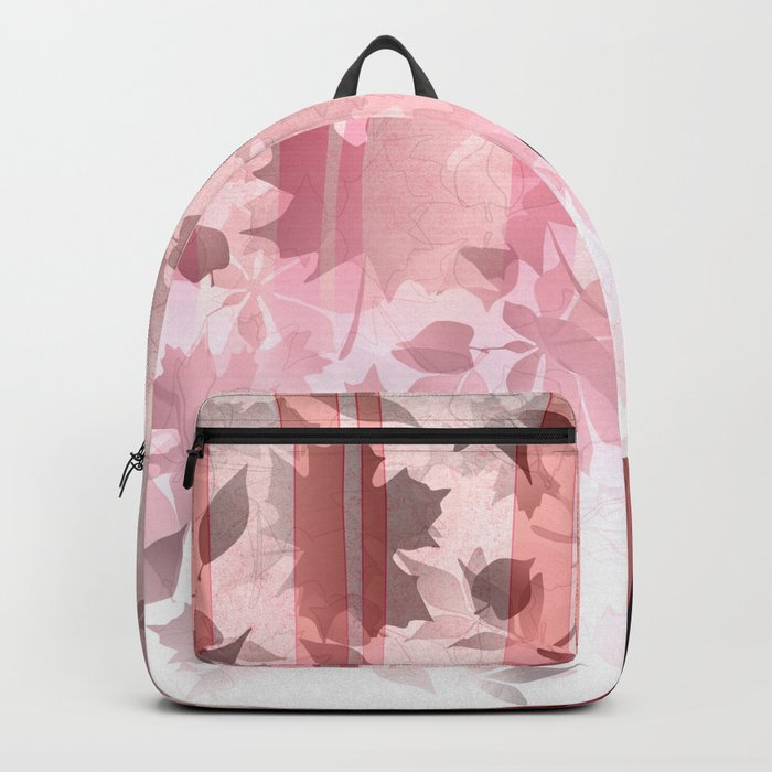 Fox In Falling Leaves Unique Design Backpack