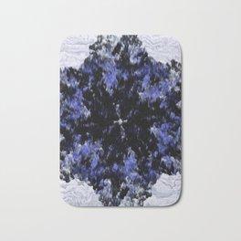 Polygon (Blue series #2) Bath Mat