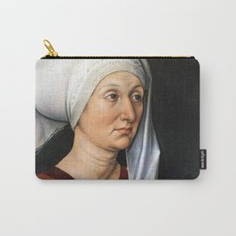 Portrait of Barbara by Albrecht Dürer Carry-All Pouch