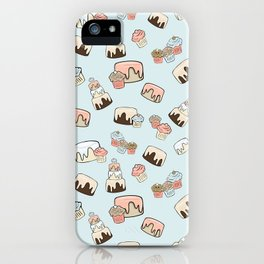 Happy Cakes iPhone Case