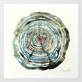 Water Oak Art Print