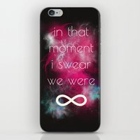 the smiths iPhone & iPod Skins featuring we were infinite by Gabrielle Agius