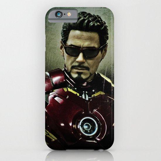 Tony Stark in Iron man costume  iPhone & iPod Case