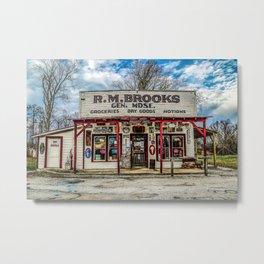 RM Brooks Metal Print