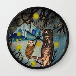 Forest Crone Wall Clock
