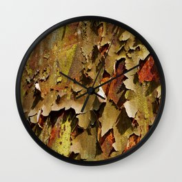 Rusty Stuff (~ Colours of Transience ~ ) II Wall Clock