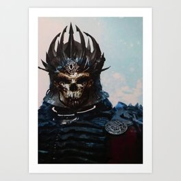 The Witcher: Eredin, the King of the Wild Hunt Art Print