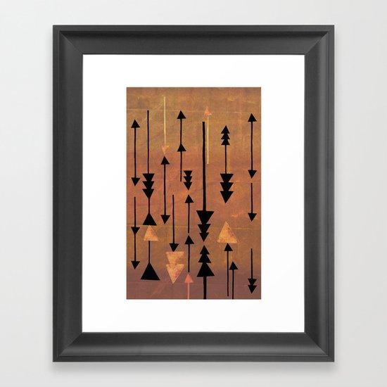 Decker Canyon Framed Art Print