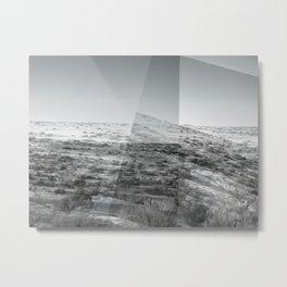 Winter Landscape Diptych  Metal Print