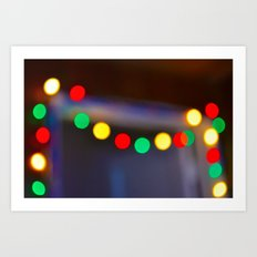 Deck the Hall Art Print