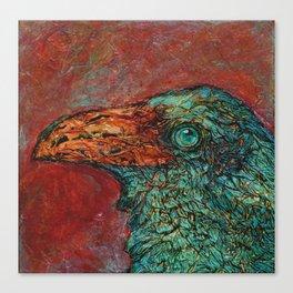 Copper Raven III Canvas Print