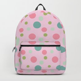 squares pink patterns Backpack
