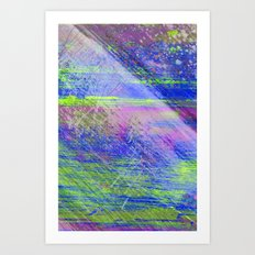 AA4 (2) Abstract watercolour Art Print