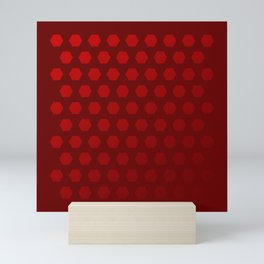 Hexagon Are Pattern Mini Art Print