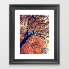 Waving Hello Framed Art Print