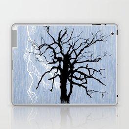 Gnarled Tree and Lightning Laptop & iPad Skin