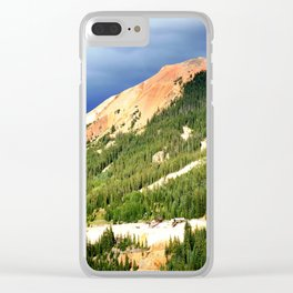 Sunlight Before the Storm, on the Gold Mines of Red Mountain Clear iPhone Case