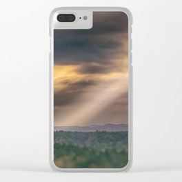 RAPTURE Clear iPhone Case