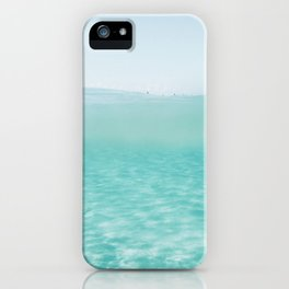 Summer waves on the perfect beach iPhone Case