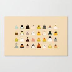 All birds - tori no iro Canvas Print
