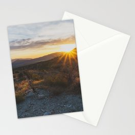 Scissors Crossing - Pacific Crest Trail, California Stationery Cards