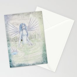 Blue Nymph Stationery Cards