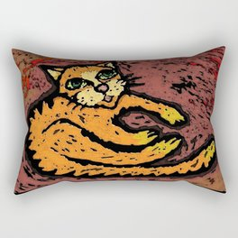 Mango. Rectangular Pillow