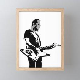 Papa Het Framed Mini Art Print