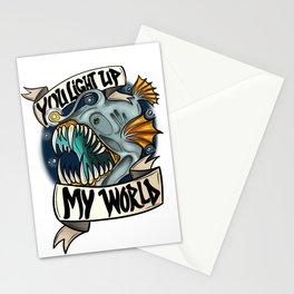 You Light Up My World Stationery Cards