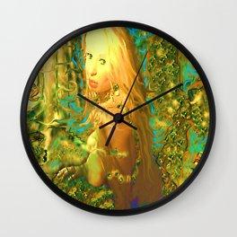 SEXY NUDE MERMAID PRINCESS,ART LADYKASHMIR Wall Clock