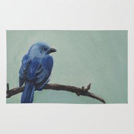 Blue-Grey Tanager Rug
