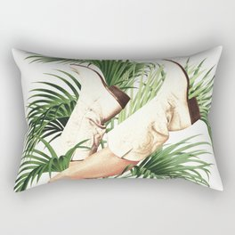 These Boots - Palm Leaves Rectangular Pillow