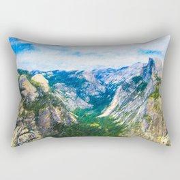 Yosemite National Park Viewpoint Rectangular Pillow