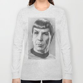 Spock - Fascinating (Star Trek TOS) Long Sleeve T-shirt