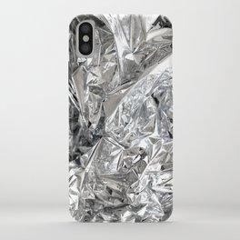 Silver Mylar Balloon iPhone Case