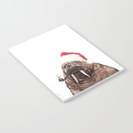 Christmas Daddy Walrus Notebook